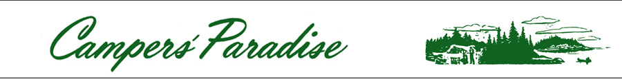 logo for Campers' Paradise